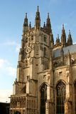 Canterbury Cathedral. Bell tower of Canterbury Cathedral, Canterbury, England royalty free stock photo