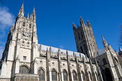 Canterbury Cathedral. The Cathedral of Canterbury in a sunny day Royalty Free Stock Photo