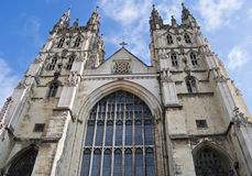 Canterbury Cathedral. The Cathedral of Canterbury in a sunny day Stock Photography
