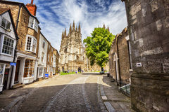Canterbury Cathedral  in Canterbury, Kent, UK Stock Images