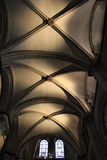 Canterbury Cathedral Choir ceiling Stock Photos