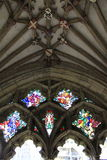 Canterbury Cathedral cloister details Stock Images