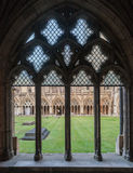 Canterbury Cathedral Cloister England Royalty Free Stock Images