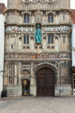 Canterbury Cathedral entrance Stock Photos