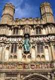 Canterbury Cathedral Gateway Stock Photography