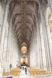 Canterbury Cathedral interior England Stock Photography