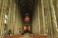 Canterbury Cathedral interior England Royalty Free Stock Photo