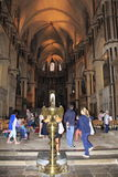 Canterbury Cathedral interior England royalty free stock images