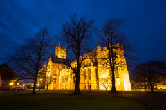 Canterbury Cathedral At Night Stock Photos