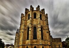 Canterbury Cathedral. Painted windows and ceiling Royalty Free Stock Photo