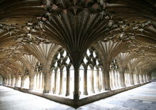 Free Canterbury Cathedral, The Cloisters Royalty Free Stock Photos - 10909398