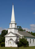 Canterbury Church. Old New England country church, Canterbury, New Hampshire stock photo