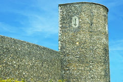 Canterbury City Wall Tower in Canterbury in Kent of England Royalty Free Stock Images