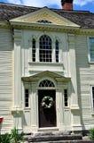 Canterbury, Connecticut: Roztropności Crandall dom Zdjęcie Royalty Free