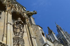 Canterbury domkyrka. Arkivbilder