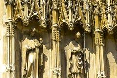 Canterbury domkyrka, UK Arkivfoto