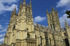Canterbury domkyrka, UK Arkivbild