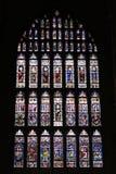 Canterbury-Fleckglas Stockfoto