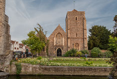 Canterbury Great Stour Medieval Building Royalty Free Stock Images