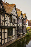Canterbury half timbered building Royalty Free Stock Images