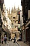 Canterbury historic town street UK Royalty Free Stock Photography