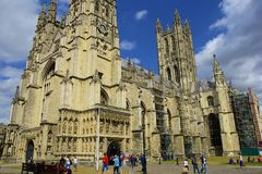 Canterbury katedra, UK Zdjęcie Royalty Free