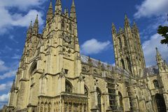 Canterbury katedra, UK Fotografia Stock