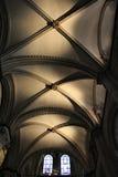 Canterbury Katedralny Chórowy sufit zdjęcia stock