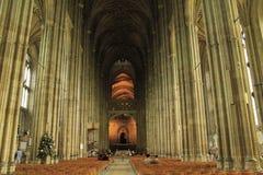 Canterbury Katedralny wewnętrzny Anglia zdjęcie royalty free