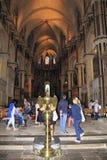 Canterbury Katedralny wewnętrzny Anglia obrazy royalty free