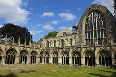 Canterbury-Kathedrale, Großbritannien stockfotos