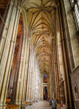 Canterbury-Kathedrale, Kent, Vereinigtes Königreich lizenzfreies stockfoto