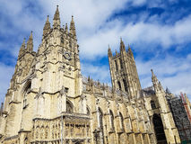Canterbury-Kathedralen-Kloster, Kent, Vereinigtes Königreich stockfotos