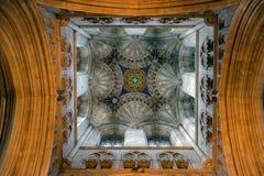 CANTERBURY, KENT/UK - 12 DE NOVEMBRO: Vista interior de Canterbury Imagem de Stock