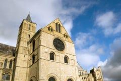 CANTERBURY, KENT/UK - 12. NOVEMBER: Ansicht von Canterbury-Kathedrale Lizenzfreies Stockfoto