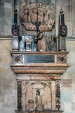 CANTERBURY, KENT/UK - 12. NOVEMBER: Das Hales-Denkmal im Kanter stockfotografie