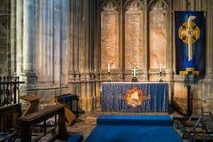 CANTERBURY KENT/UK - NOVEMBER 12: Inre sikt av Canterbury Royaltyfri Fotografi