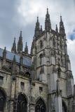 CANTERBURY, KENT/UK - 12 NOVEMBER: Mening van de Kathedraal van Canterbury Stock Foto's