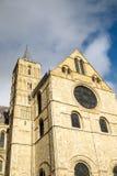 CANTERBURY, KENT/UK - 12 NOVEMBER: Mening van de Kathedraal van Canterbury Royalty-vrije Stock Afbeeldingen