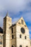 CANTERBURY, KENT/UK - 12 NOVEMBER: Mening van de Kathedraal van Canterbury Stock Fotografie