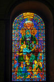 CANTERBURY, KENT/UK - NOVEMBER 12 : Stained Glass Window in Cant Royalty Free Stock Images