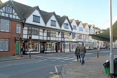 Canterbury Main Road Stock Images