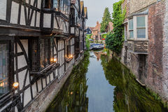 Canterbury Medieval Building England Stock Photography