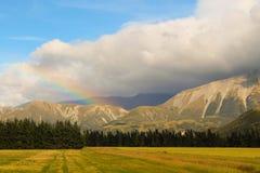 Canterbury Mountain Rainbow Stock Images