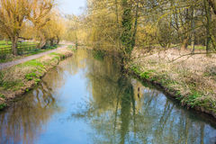 Canterbury River Stour Royalty Free Stock Images