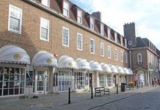 Canterbury Shops Stock Photo