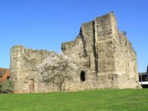 canterbury slott Royaltyfria Foton