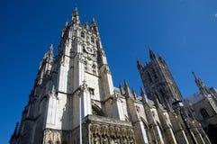 Canterbury torreggiante Fotografia Stock