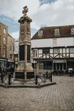 Canterbury War Memorial monolith, Kent, England. royalty free stock photos