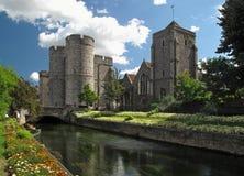 Canterbury westgate Kontrolltürme Stockfotos